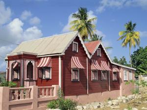 Chattel House, Speightstown, Barbados, West Indies, Caribbean, Central America by Hans Peter Merten