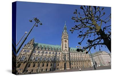 City Hall, Hamburg, Germany, Europe
