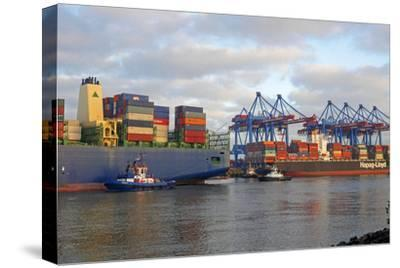 Container terminal Altenwerder, Hamburg, Germany, Europe