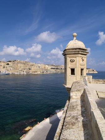 Fort St. Michael, Senglea, Grand Harbour, Valletta, Malta, Mediterranean, Europe by Hans Peter Merten