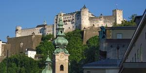 Fortress Hohensalzburg, Salzburg, Austria, Europe by Hans-Peter Merten