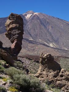 Las Canadas, Parque Nacional Del Teide, UNESCO World Heritage Site, Tenerife, Canary Islands, Spain by Hans Peter Merten