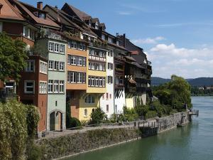 Laufenburg and River Rhine, Black Forest, Baden-Wurttemberg, Germany, Europe by Hans Peter Merten