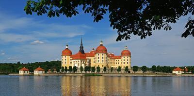 Moritzburg Castle near Dresden, Saxony, Germany, Europe