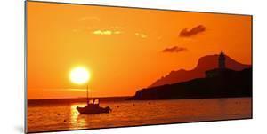 Morning mood at the Lighthouse of Alcanada, Alcudia, Majorca, Balearic Islands, Spain, Mediterranea by Hans-Peter Merten