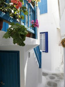 Mykonos Town, Mykonos, Cyclades Islands, Greek Islands, Greece, Europe by Hans Peter Merten