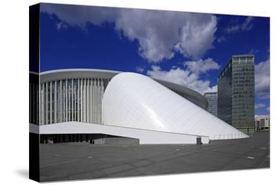 New Philharmonic Hall on Kirchberg in Luxembourg City, Grand Duchy of Luxembourg, Europe