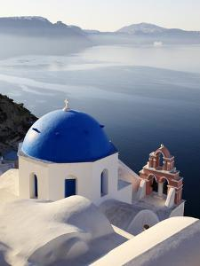 Oia, Santorini, Cyclades Islands, Greek Islands, Greece, Europe by Hans Peter Merten