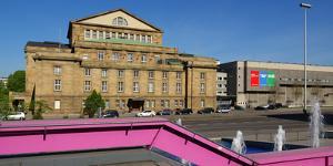 Opera House, Stuttgart, Baden-Wurttemberg, Germany, Europe by Hans-Peter Merten