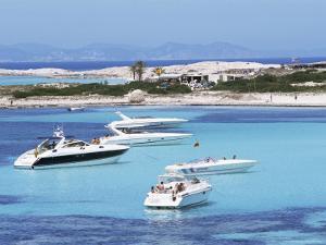 Platja Illetas, Formentera, Balearic Islands, Spain, Mediterranean by Hans Peter Merten