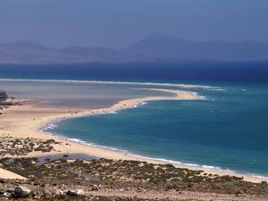 Playas De Sotavento, Fuerteventura, Canary Islands, Spain, Atlantic, Europe by Hans Peter Merten