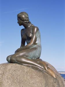 The Little Mermaid, Copenhagen, Denmark, Scandinavia by Hans Peter Merten