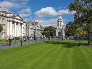 University Trinity College, Dublin, Republic of Ireland, Europe by Hans Peter Merten