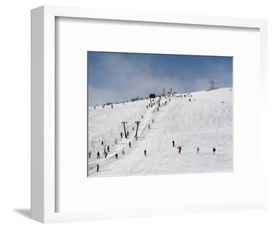 Winter Sports at Feldberg, Black Forest, Baden-Wurttemberg, Germany, Europe