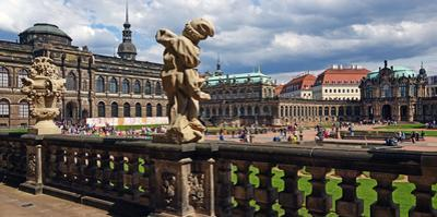 Zwinger Palace, Dresden, Saxony, Germany, Europe