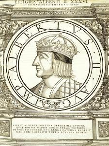 Albertus II by Hans Rudolf Manuel Deutsch