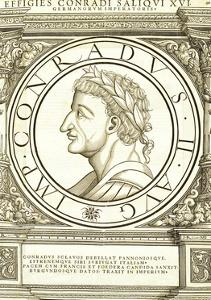 Conradus II Saliquus by Hans Rudolf Manuel Deutsch