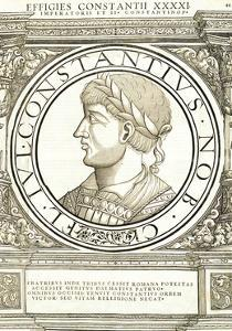 Constantius II by Hans Rudolf Manuel Deutsch
