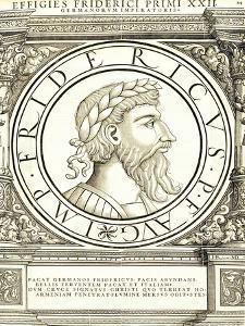 Fridericus I by Hans Rudolf Manuel Deutsch