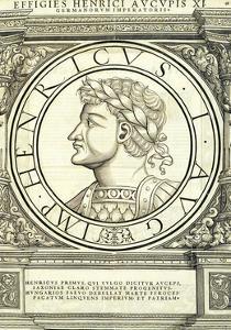 Henricus I Auceps by Hans Rudolf Manuel Deutsch