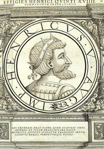Henricus V by Hans Rudolf Manuel Deutsch