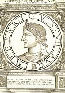 Henricus VII by Hans Rudolf Manuel Deutsch