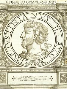 Iustinianus II by Hans Rudolf Manuel Deutsch