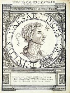 Julius Caesar by Hans Rudolf Manuel Deutsch