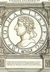 Lotharius I by Hans Rudolf Manuel Deutsch