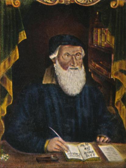 'Hans Sachs 1494-1576. Kupferstich von Hans Weygel', 1934-Unknown-Giclee Print