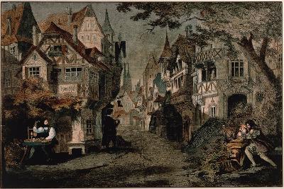 Hans Sachs, Scene 2 from 'Die Meistersinger'--Giclee Print