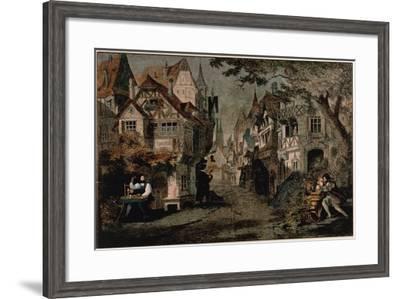 Hans Sachs, Scene 2 from 'Die Meistersinger'--Framed Giclee Print
