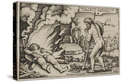 The Death of Hercules, from the Labours of Hercules, 1548