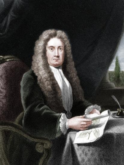 Hans Sloane, English physician and naturalist-Unknown-Giclee Print