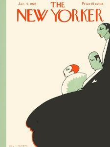 The New Yorker Cover - January 9, 1926 by Hans Stengel