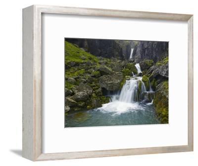 Mossy Waterfall Along the Strandar River