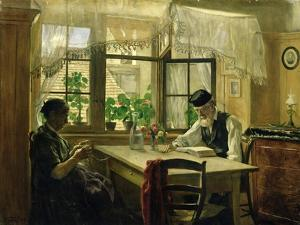 A Peaceful Sunday, 1876 by Hans Thoma