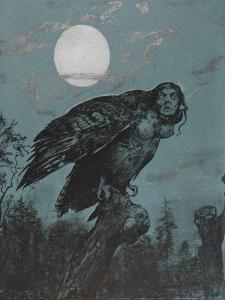 Harpye by Hans Thoma