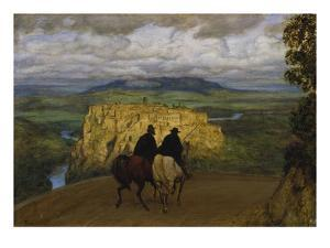 Remembrance of Places, 1887 by Hans Thoma
