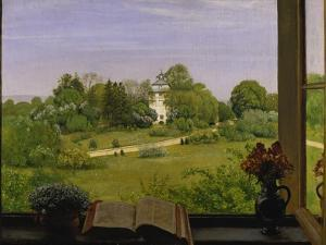 The Oed, View of Holzhausenpark, Frankfurt, 1883 by Hans Thoma