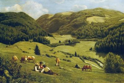 The Valley Near Sankt Blasien, 1882