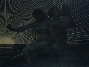 Triton Pair, 1892 by Hans Thoma