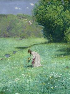Woodland Meadow, 1876 by Hans Thoma