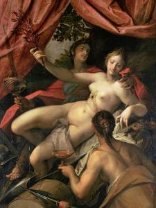 Allegory of Peace, Art and Abundance, 1602 by Hans von Aachen