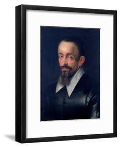 Johannes Kepler (1571-1630), Astronomer, circa 1612 by Hans von Aachen