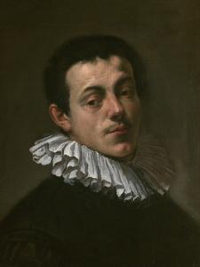 Portrait of Joseph Heintz the Elder (1564-160) by Hans von Aachen