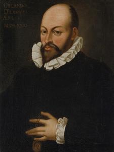 Portrait of Orlando Di Lasso. Copy after Hans Von Aachen, 17/18th Century by Hans von Aachen