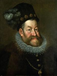 Rudolf II, 1600-3 by Hans von Aachen