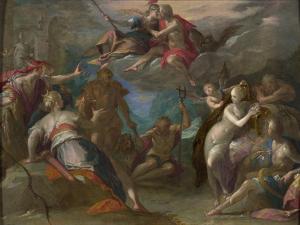 The Amazement of the Gods, 1590S by Hans von Aachen