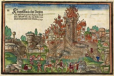 Destruction of the Krögelstein Castle by the Swabian League